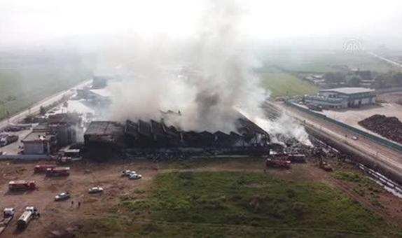 Tehlikeli Atık Arıtma, Depolama ve Bertaraf Tesislerinde Yangın Patlama Riskleri ve Önlemleri class=