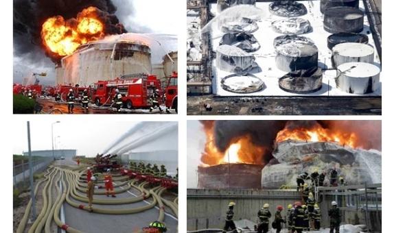 İtfaiyecilerin Uzaktan Yangına Müdahale Operasyonları