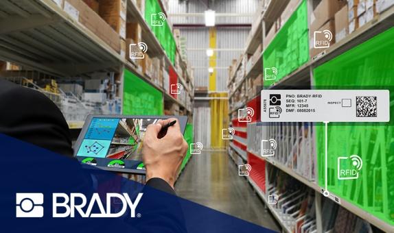 Brady'den: Özel RFID Etiketleriyle Varlıkları Verimli Bir Biçimde Takip Edin