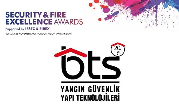 BTS Yangın, Security & Fire Excellence Awards Finalistleri Arasında Yer Aldı