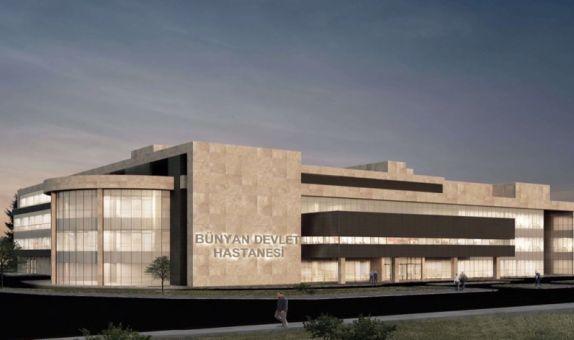Bünyan Devlet Hastanesi'nde Duyar Pompa Güvencesi