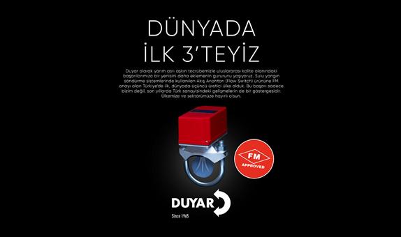 Duyar Vana FM Başarısı ile Türkiye'yi Dünyada İlk 3'e Taşıdı