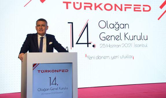 Orhan Turan Yeniden TÜRKONFED Başkanlığı'na Seçildi