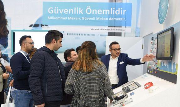 Siemens Bina Ürünleri Bölümü,  TÜYAK 2019'a Katıldı