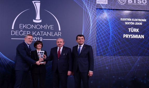 Türk Prysmian Kablo'ya 'Sektör Lideri' Ödülü