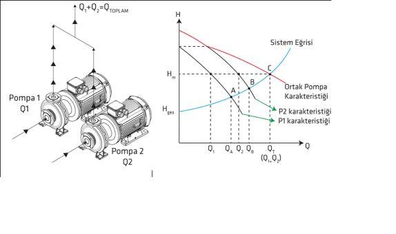 Paralel ve Seri Bağlı Standart Pompaların Çalışma Şekli ve Uygulamadaki PÜF Noktalar
