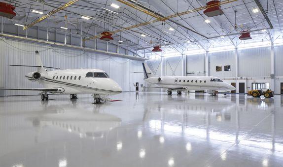 Uçak Hangarlarındaki Yüksek Genleşme Köpük Söndürme Sistemi