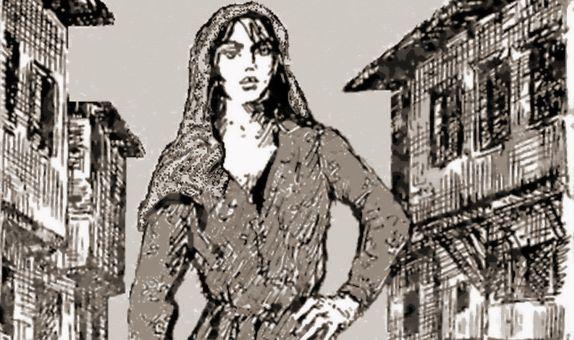 İlk Kadın İtfaiyeci Tulumbacı Bahriye class=