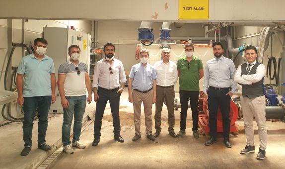 Afyon Kocatepe Üniversitesi Duyar Pompa'yı Ziyaret Etti