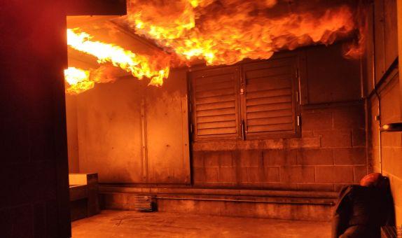 Büyük Alanlarda Yangın Güvenlik Mühendisliği için Bir Zon (Bölge) Modelin Değerlendirmesi