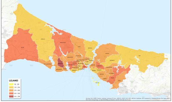 İstanbul'da Yangın Sayısı Yüzde 10 Azaldı