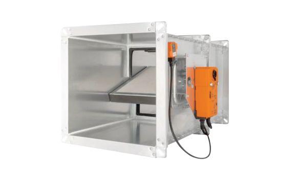 Havalandırma Sistemleri Damperlerinin Yangın Alarm Sistemleri Tarafından Kontrolü