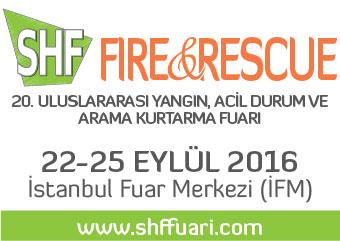 Fire&Recue - 20. Uluslararası Yangın, Acil Durum ve Arama Kurtarma Fuarı | 22-25 Eylül 2016 | İstanbul Fuar Merkezi