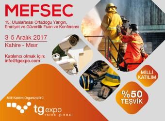 MEFSEC | 15.Uluslararası Ortadoğu Yangın, Emniyet ve Güvenlik Fuarı ve Konferansı
