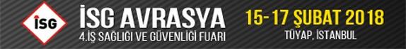 İSG AVRASYA | 15-17 Şubat 2018 | TÜYAP, İSTANBUL
