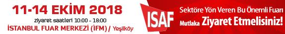 ISAF FUARI | 11-14 Ekim 2018 | İFM - İstanbul